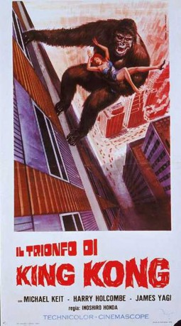 cover Il trionfo di King Kong