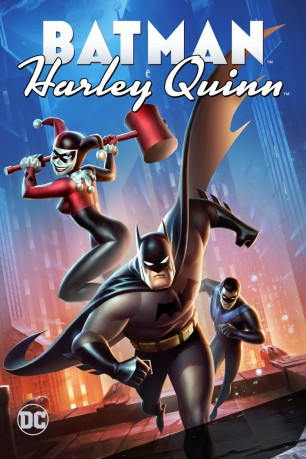 cover Batman e Harley Quinn