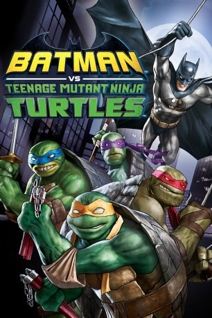 cover Batman vs. Teenage Mutant Ninja Turtles
